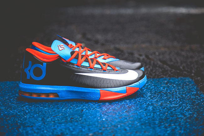 28ad2a65ad5e89 Check out these new details of the Thunder away colorway of the KD 6