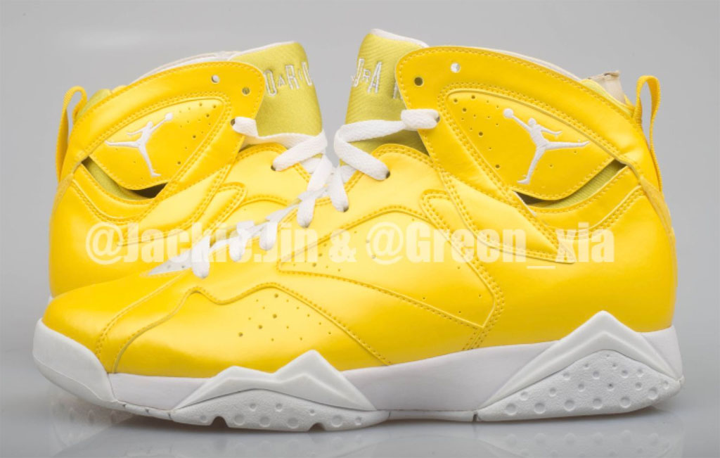 Air Jordan 7 Rainbow Sample Yellow (2011)