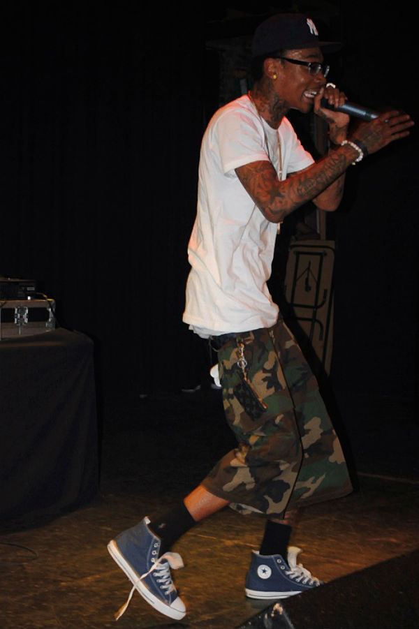 20 Photos Of Wiz Khalifa Wearing Converse Sneakers | Sole
