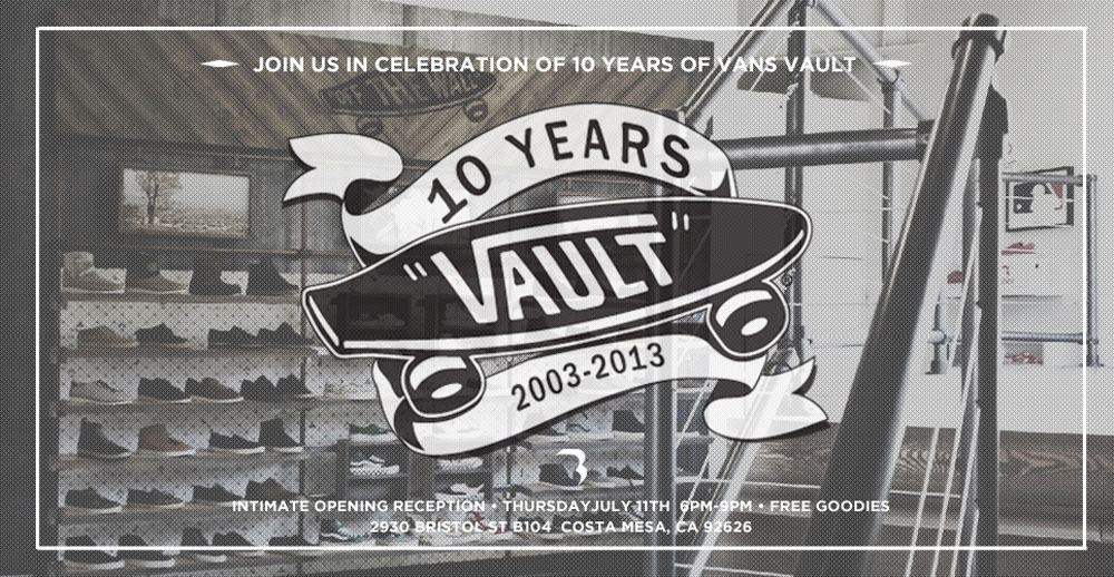 ed397a98cb Vault by Vans 10-Year Anniversary Exhibition at BLENDS