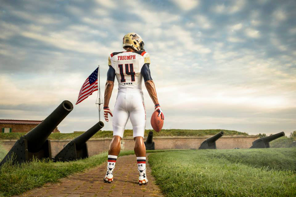 Maryland's Under Armour 'Star-Spangled Banner' Uniforms (2)