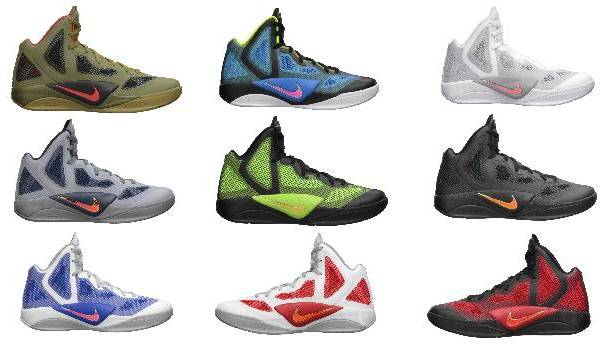 info for 38869 7733e Nike Zoom Hyperfuse 2011 - July 2011 Lineup | Sole Collector