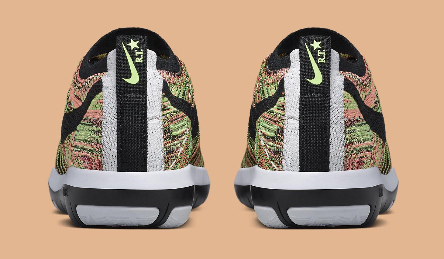 Riccardo Tisci Nike Free Transform Flyknit 844818-900 Heel