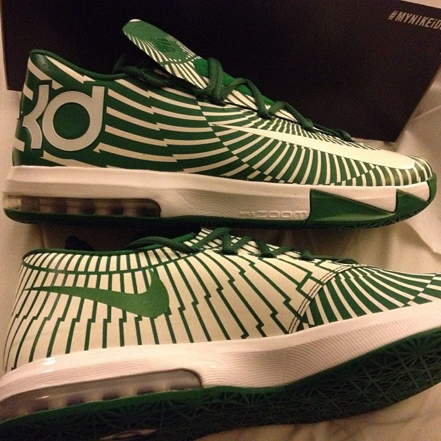Nike KD 6 Michigan State Spartans