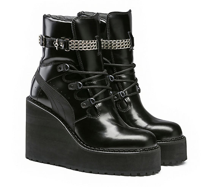 Rihanna Puma Sneaker Boot Wedge