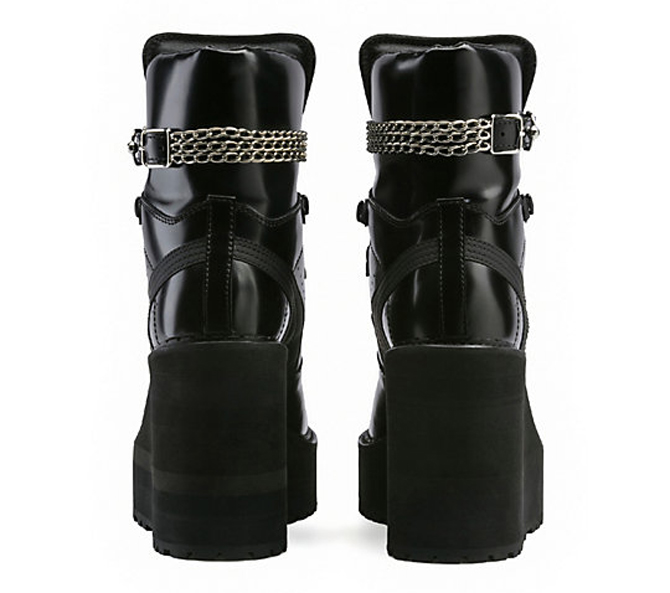 Rihanna Puma Sneaker Boot Wedge Heel