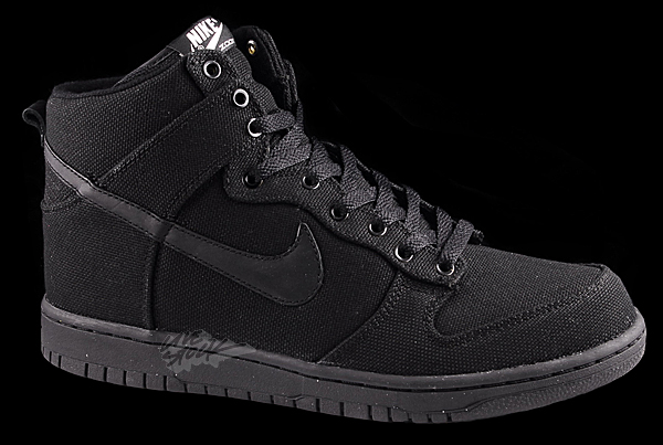 new product 0b256 93f79 Nike Dunk High Premium - Black/Black-Sail | Sole Collector