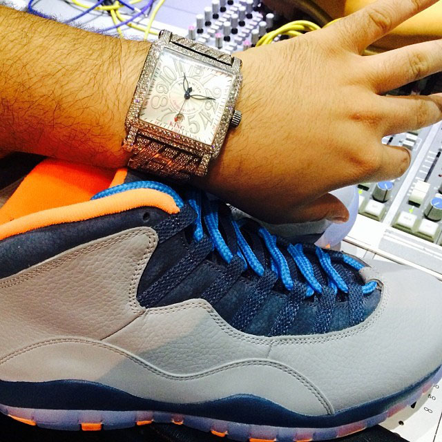 DJ Khaled Picks Up Air Jordan 10 Bobcats