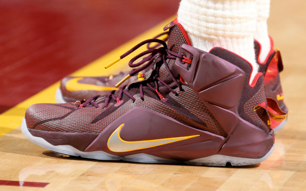 d740eb430b2 SoleWatch  Up Close with LeBron James  Nike LeBron 12  Double Helix ...