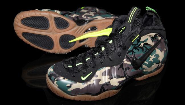 Nike Foamposite One Air Particle Beige Aloe Verde Sneaker ...