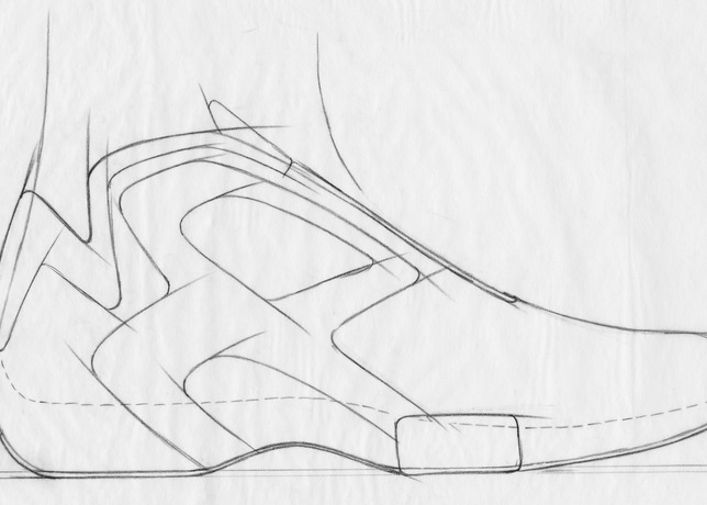 ac3b41e90262 Check out some Eric Avar s early Nike Air Hyperflight sketches in the  images below.