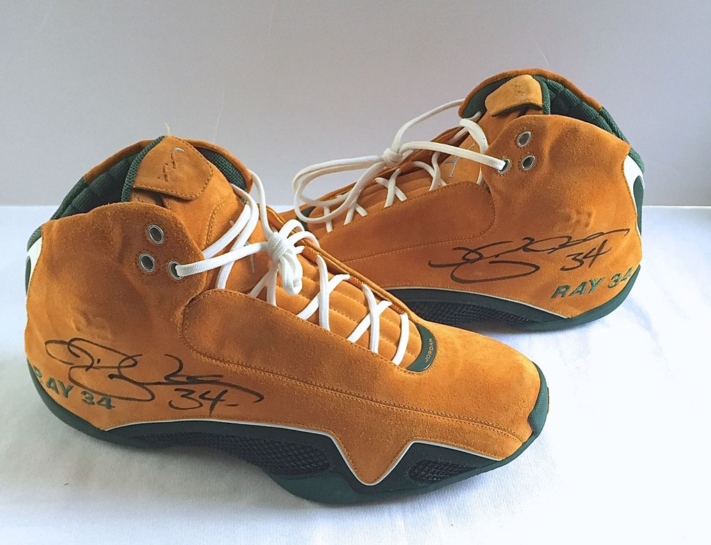new product 6c6d5 a9552 Ray Allen s Rarest Air Jordan Exclusive Just Hit the Market