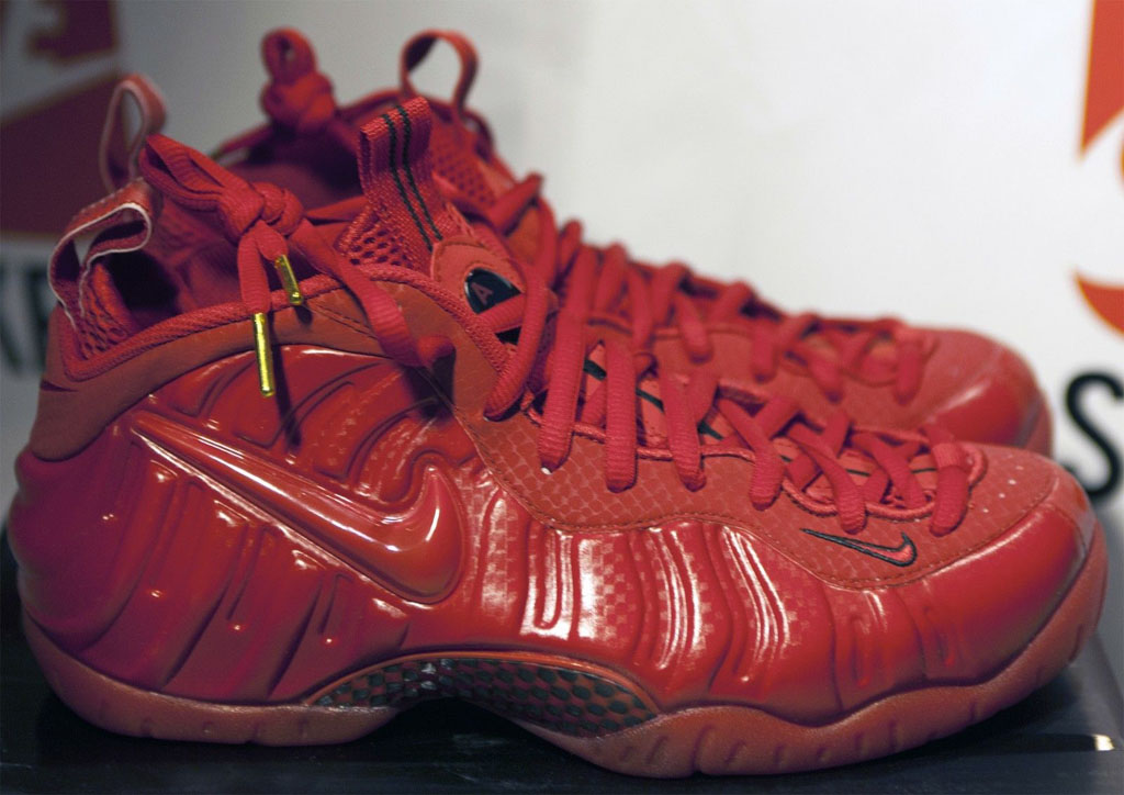 Nike Foamposite All Red