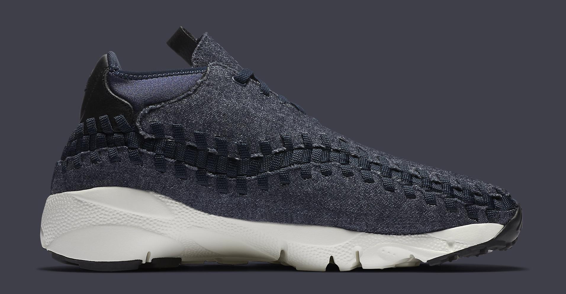 classic fit 1d520 b7afe Image via Nike Nike Footscape Woven Chukka Denim 857874-400 Medial