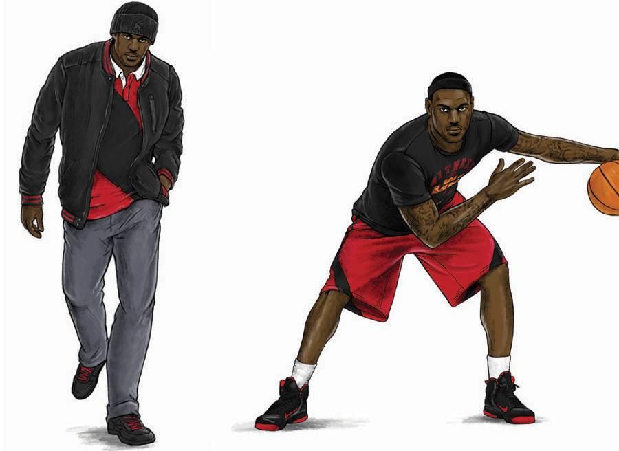 free shipping 0f7dc 420d7 Nike Sportswear LeBron James Holiday 2011 Signature ...