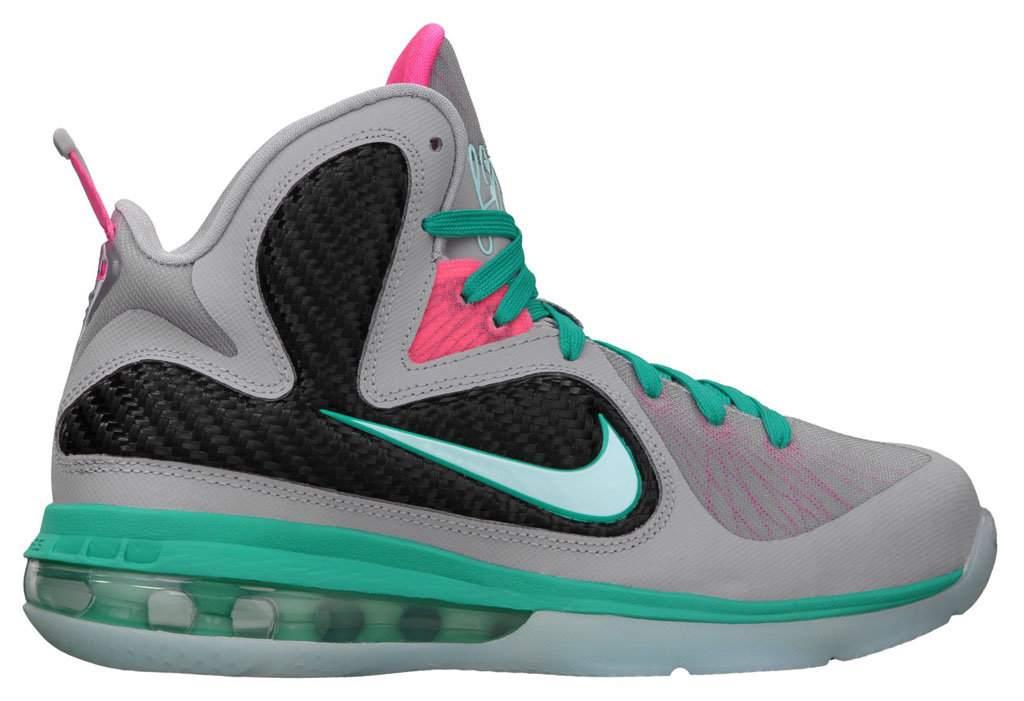 Nike LeBron IX 9 GS South Beach