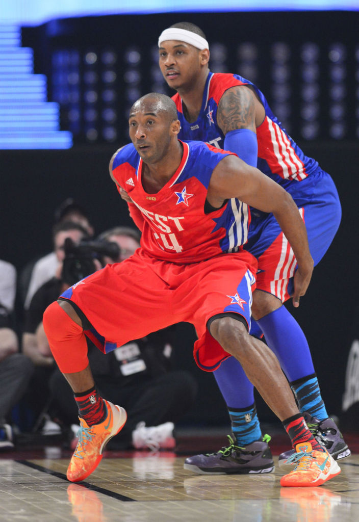 Kobe Bryant wearing Nike Kobe 8 System All-Star Area 72 (1)