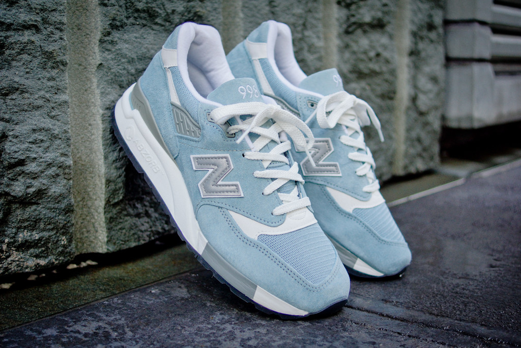 new balance pool blue 998