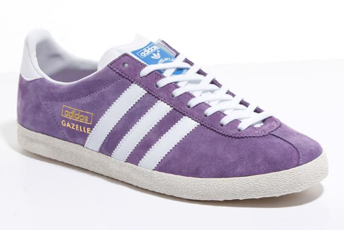 amplitud Ejercicio mañanero estudio  adidas Originals Gazelle OG - Royal Purple/White/Chalk | Sole Collector