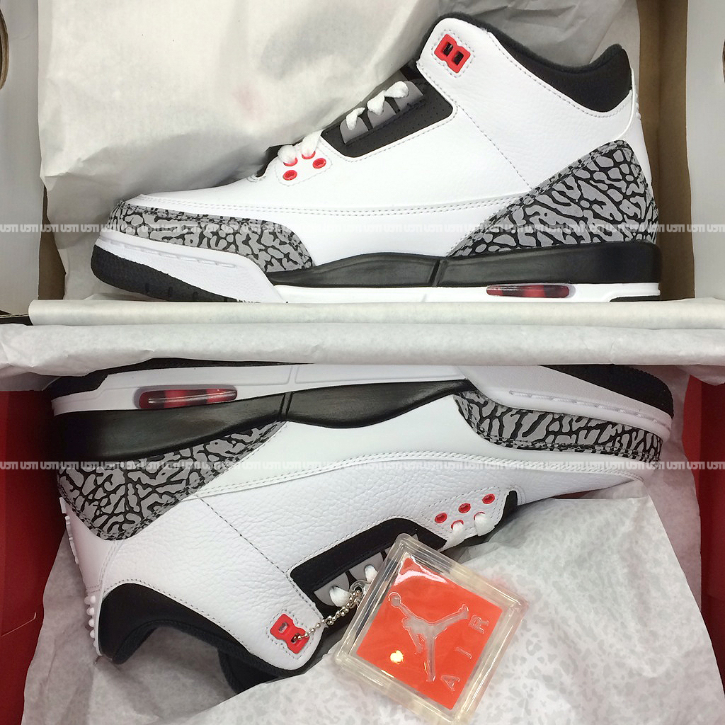watch 65920 a4f8d Air Jordan 3 Retro 'White/Black/Infrared' - New Images ...