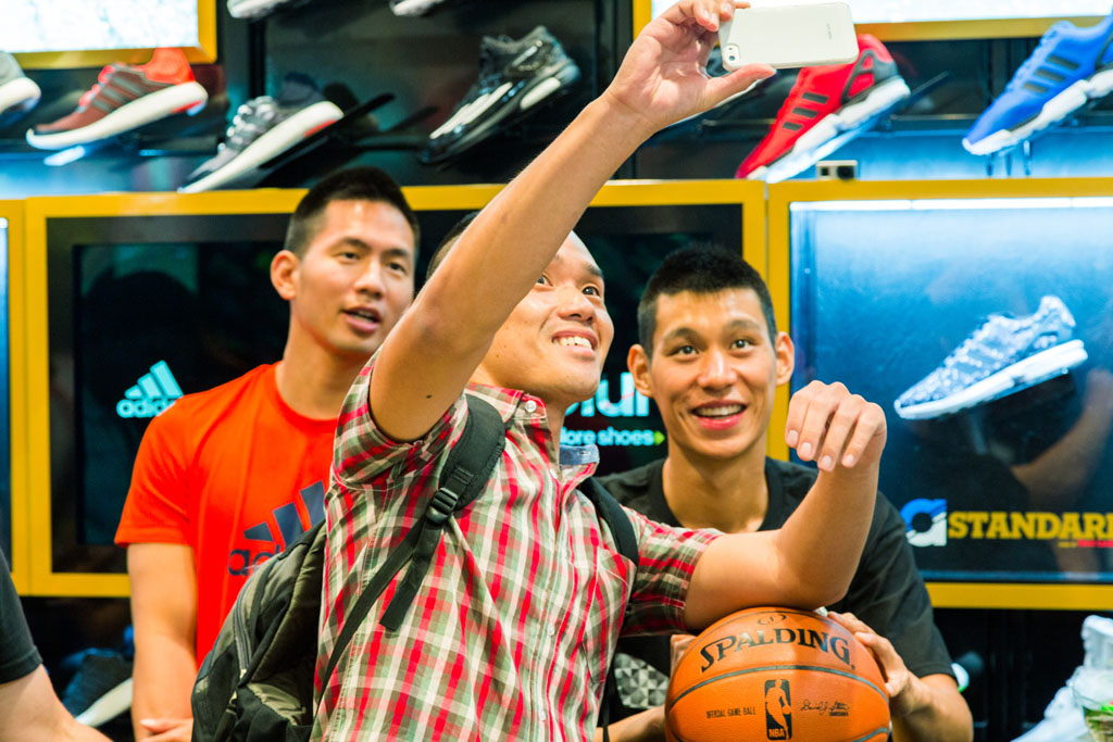 Photos from jeremy lins adidas meet and greet at the culver city jeremy lin meets fans at culver city foot locker 3 m4hsunfo Choice Image