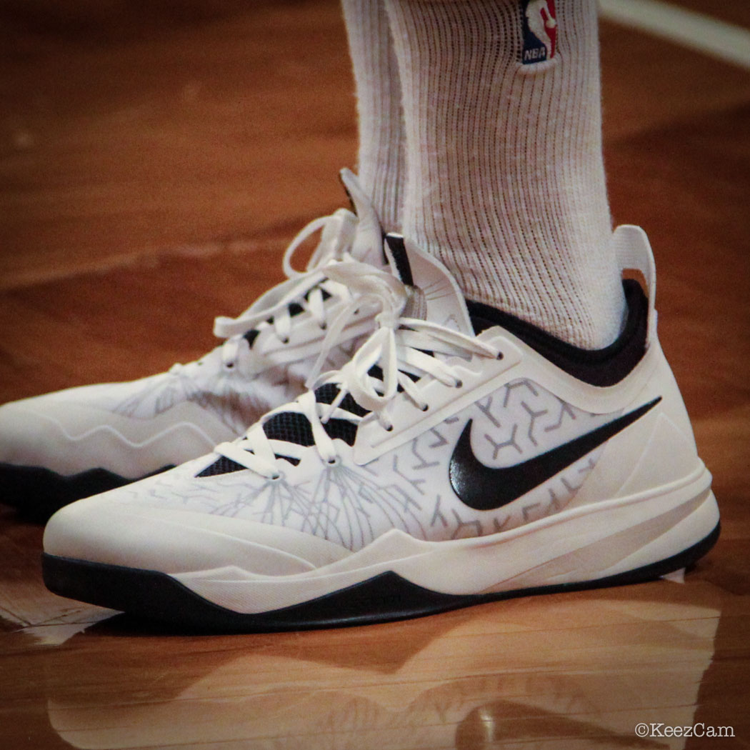 Andray Blatche wearing Nike Zoom Crusader