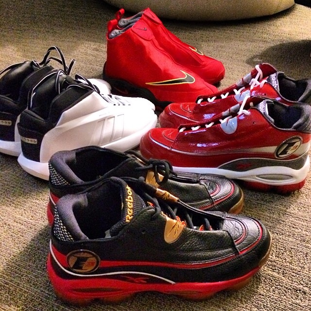 Joe Haden Picks Up Nike Zoom Glove Heat, adidas Crazy 1, Reebok Answer 1