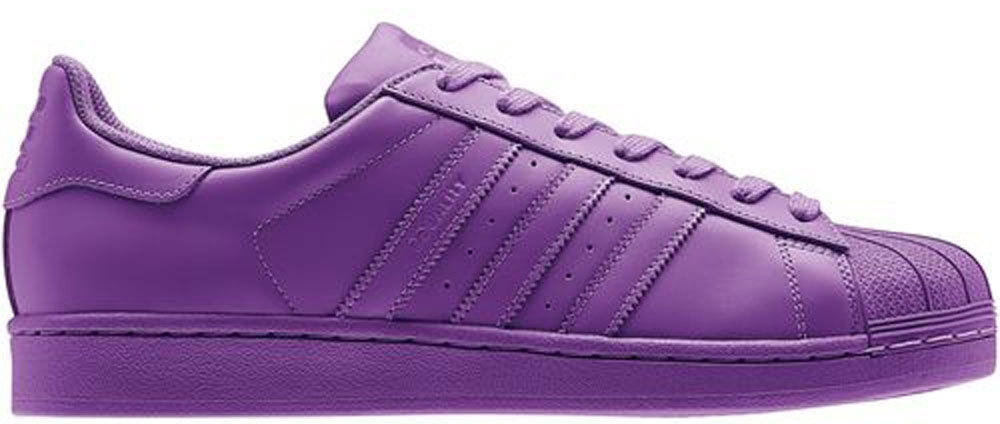 adidas Superstar Ray Purple/Ray Purple-Ray Purple