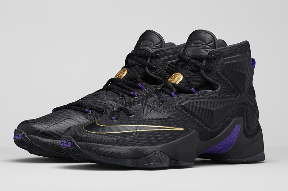 0d130934ed4f This Nike LeBron 13 Needed a Touch of Gold