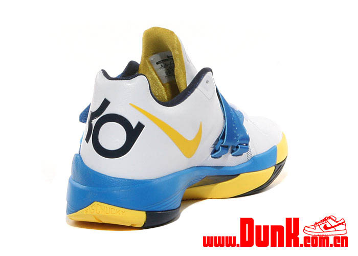 new concept cc5ef 57a72 Nike Zoom KD IV White Tour Yellow Photo Blue Navy 473679-102 (5)