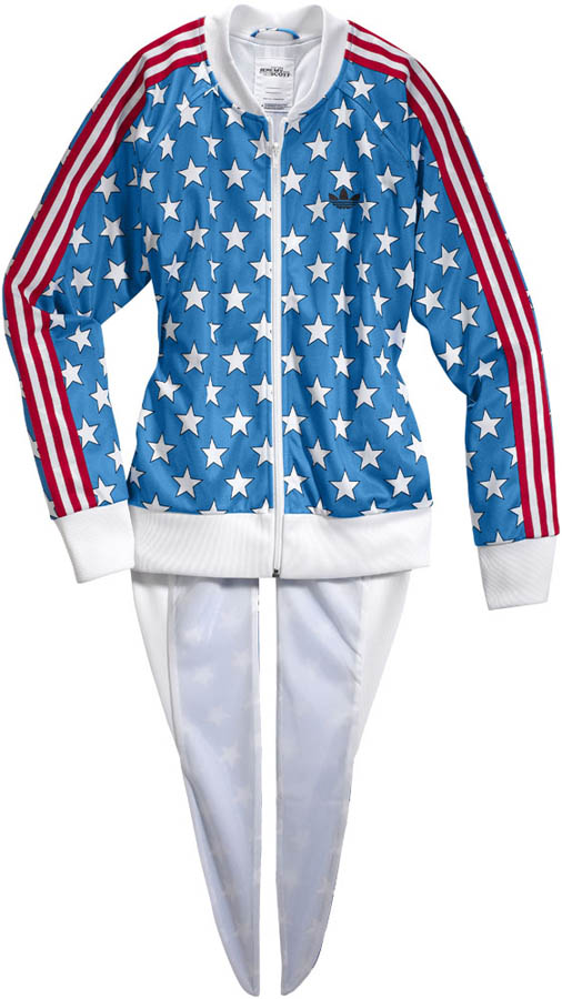 adidas Originals by Jeremy Scott - Spring/Summer 2012 - JS Flag Tailed TT X30168