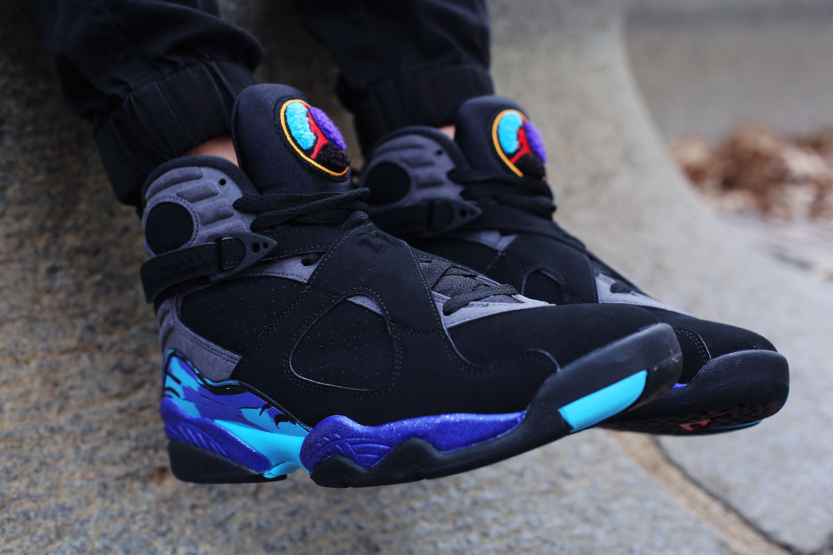 nike air jordan 8 aqua for sale