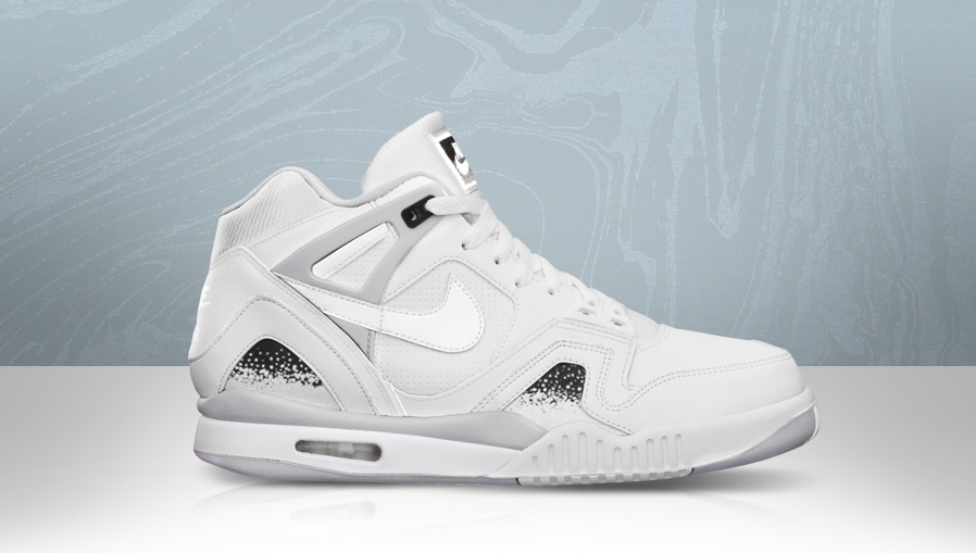 Nike Air Tech Challenge II 2 All-White