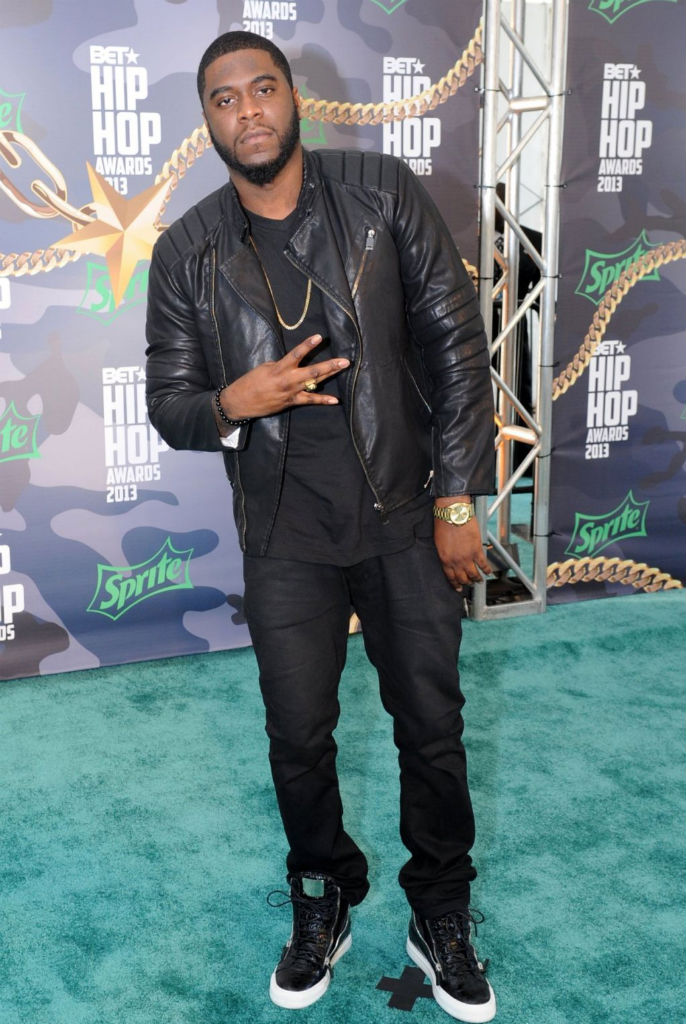 Big K.R.I.T. wearing Giuseppe Zanotti Double Zip Sneakers