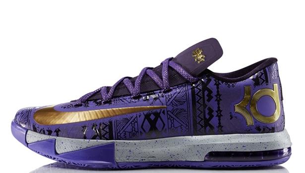 Nike KD VI BHM Purple Venom/Metallic Gold-Purple Dynasty