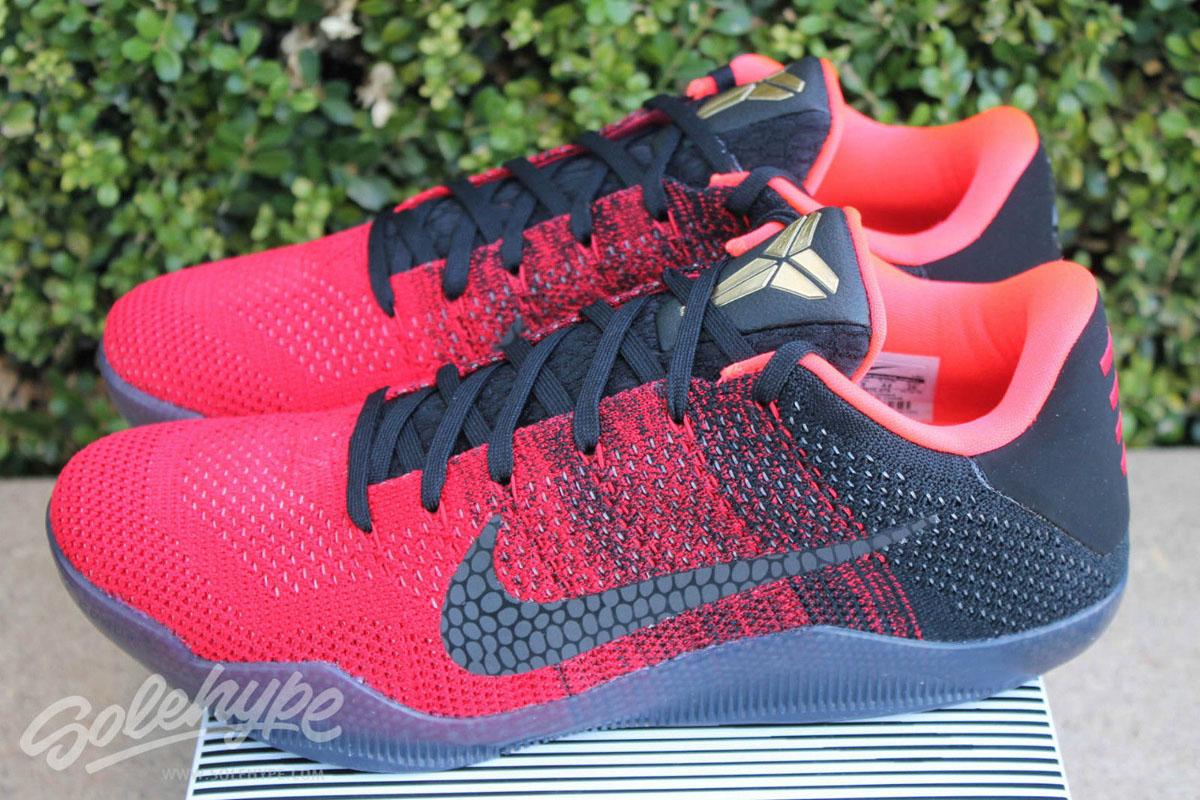 wholesale dealer a07d9 01249 Nike Kobe 11 Achilles Heel Release Date 822675-670 (14)