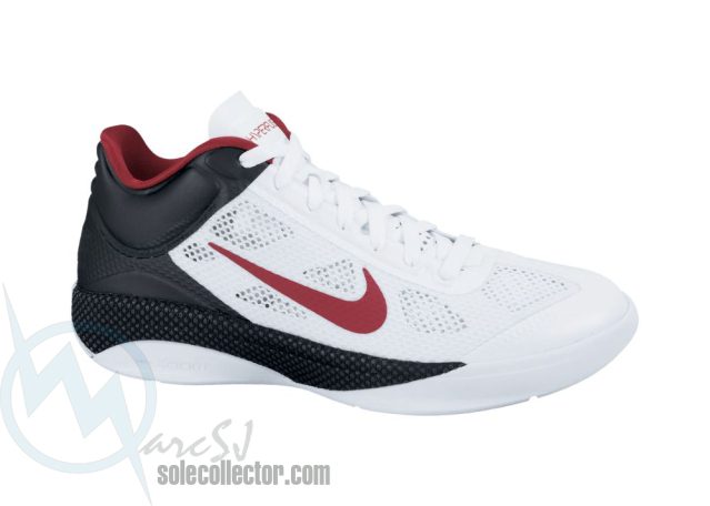 b38c652c0e06 Nike Zoom Hyperfuse Low White Varsity Red Black 429614-105