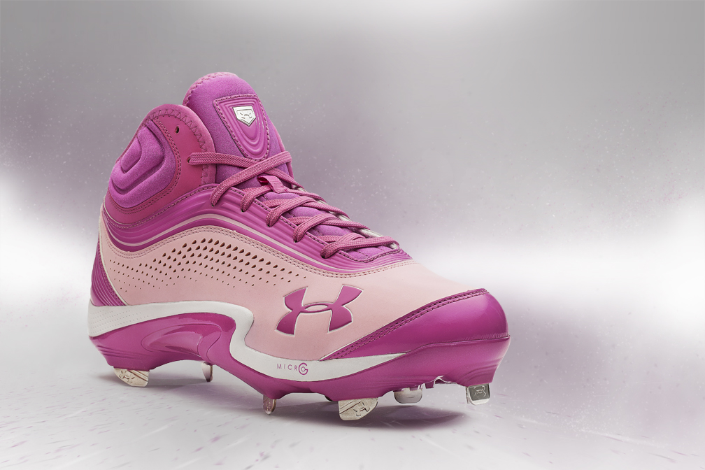 e107662b5f41 Under Armour presents two exclusive cleats honoring Mother's Day, both of  which will be seen on the feet of UA athletes in the MLB this weekend.
