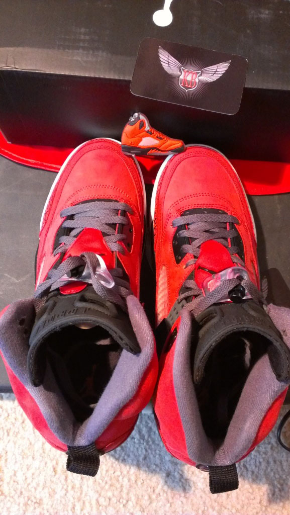 Jordan Spiz'ike Gym Red Black Dark Grey White 315371-601 (6)
