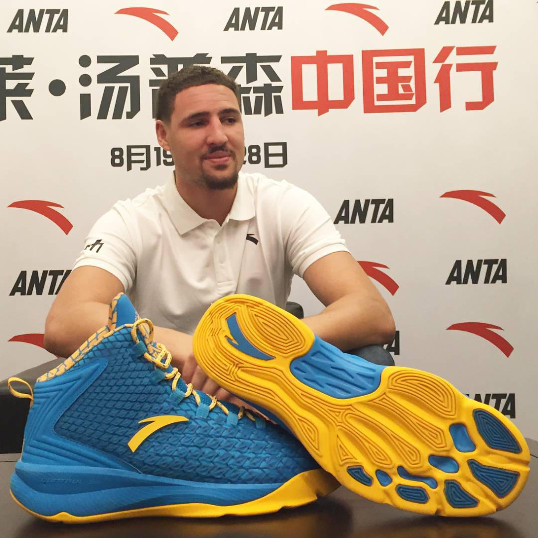 Klay Thompson Introduces the ANTA KT 1 (2)