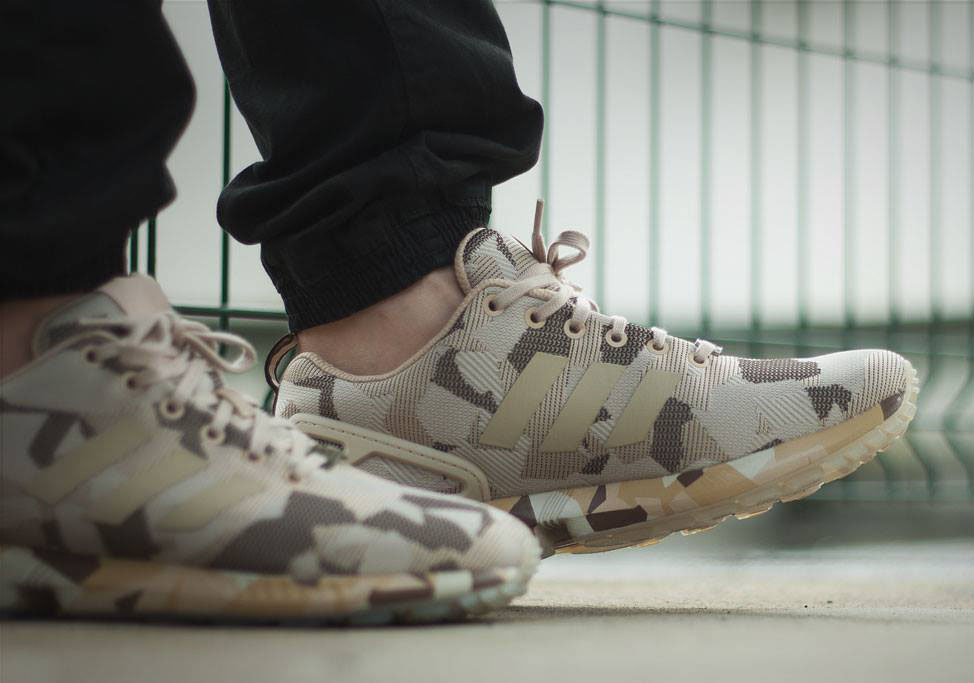 adidas ZX Flux Brown Desert Camo (2)