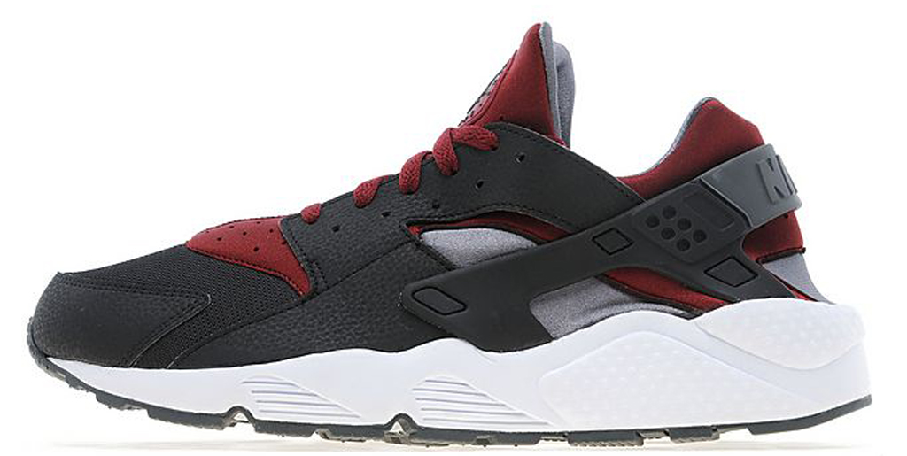 Nike Huarache Black Red Blue