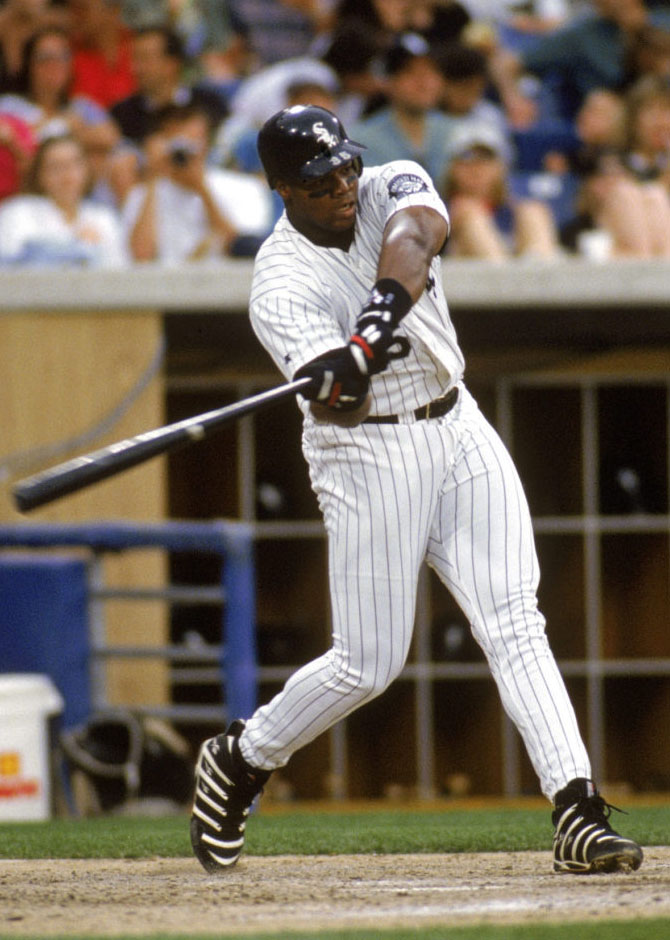 Frank Thomas Wearing Reebok Big Hurt (6)