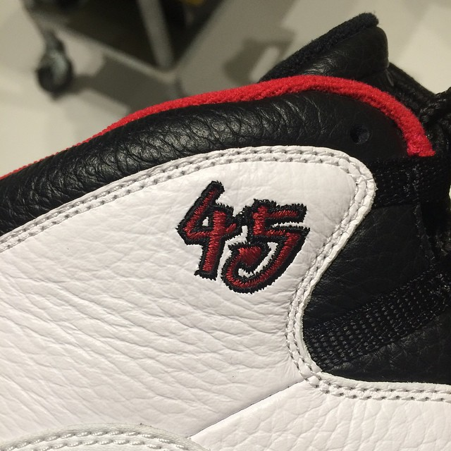 Air Jordan X 10 Retro Chicago 45 Spring 2015 (2)