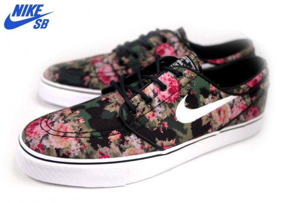 The  Digi Floral Camo  Nike SB Stefan Janoski is expected to release next  month. e95b4e994