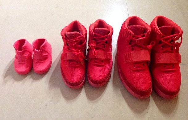 Yeezy Red