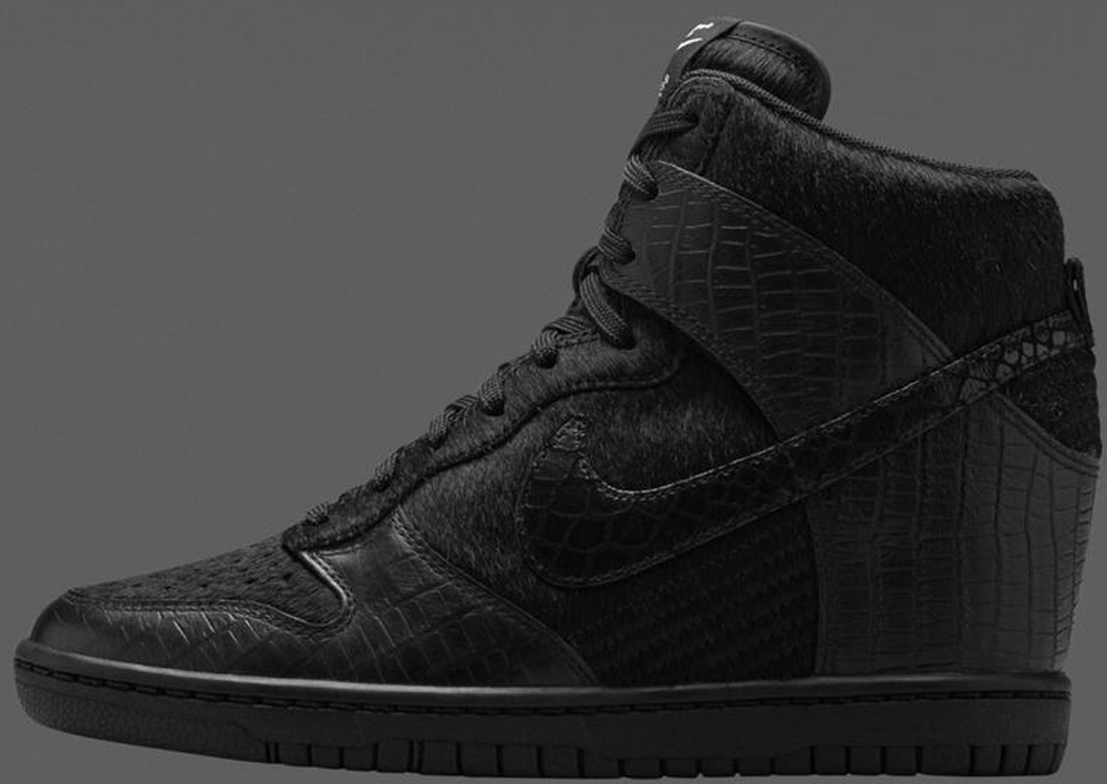 Nike Dunk Sky Hi SP Women's Black/Black