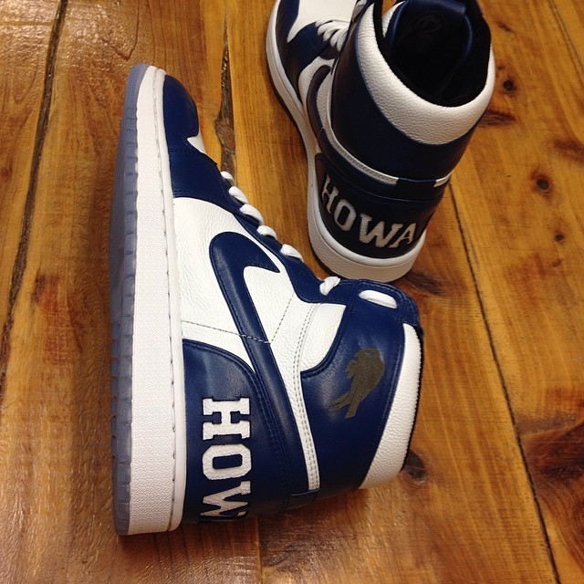 Diddy's 'Howard University' Air Jordan 1 by Relevant Customs (4)