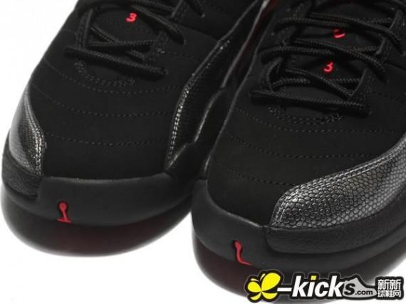 Air Jordan Retro 12 GS - Black Siren Red - New Images  19b192a66