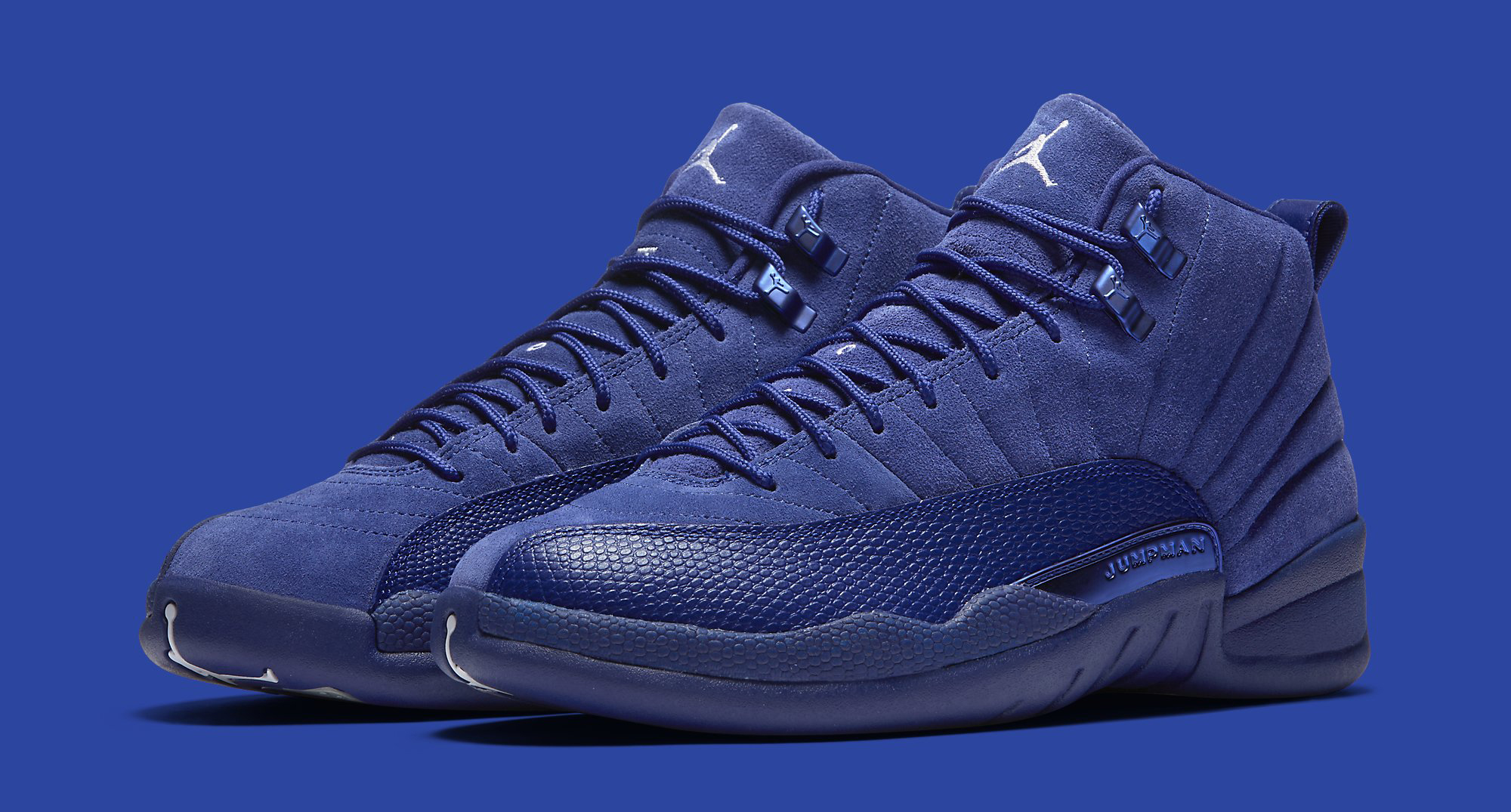 blue jordan shoes